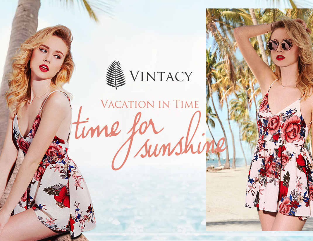Fashion Vintacy Summer Vacation Dresses